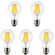 5Pcs MORSEN®Lowest Price E27  8W  800lm Bulbs  LED Filament Bulb Warm/Cold White Bulbs Lamp for Indoor/Kitchen AC85-265V