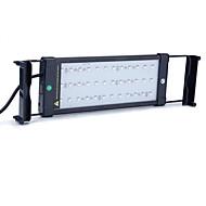 십일인치 (30cm)는 수족관 빛 AC 100-240V RGB 원격 제어 확장 브라켓 물고기 램프 유럽 연합 (EU) 플러그를 주도