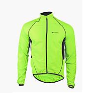 NUCKILY® Giacca da ciclismo Per uomo Maniche lunghe Bicicletta Impermeabile / Antivento / Zip anteriore / IndossabileGiacca di pelle /