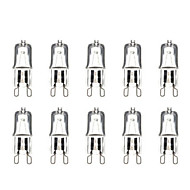 G9 40W 3000-3500K Warm White Halogen Bulb Light Globe Lamp (220V,10pcs)