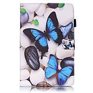 Pour Samsung Galaxy Coque Portefeuille Porte Carte Avec Support Clapet Relief Motif Coque Coque Intégrale Coque Papillon Dur Cuir PU pour