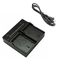 パナソニックDMW-blf19のルミックスDMC-GH3 gh4gk AG-GH4のためblf19デジタルカメラのバッテリーデュアル充電器