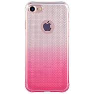 Til Etui iPhone 7 Etui iPhone 7 Plus Gjennomsiktig Etui Bakdeksel Etui Fargegradering Myk TPU til Apple iPhone 7 Plus iPhone 7