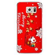 For Samsung Galaxy S7 S7 Deer and Santa Claus TPU Soft Case Cover S6 Edge Plus