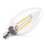 2W E14 LED Filament Bulbs C35 2 180-200 lm Warm White Decorative AC 220-240 V