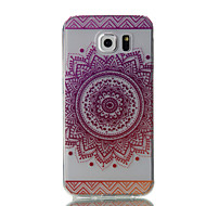 Til Samsung Galaxy S7 edge s7 pink blomster mønster høj permeabilitet tpu materiale telefon taske