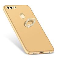 Mert Állvánnyal Tartó gyűrű Jeges Case Hátlap Case Egyszínű Kemény PC mert HuaweiHuawei P10 Plus Huawei P10 Huawei P9 Huawei P9 Plus