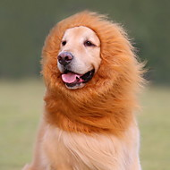 Köpekler Kostümler / Peruk Siyah / Beyaz / Kahverengi Köpek Giyimi Yaz Hayvan Cosplay / aslan Mane