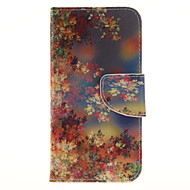 Color Flower Pattern PU Leather Full Body Case with Card Slot for Samsung Galaxy J3 J3 (2016)