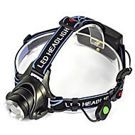Valaistus Otsalamput LED 5000 Lumenia 1 Tila Cree XM-L T6 18650 Kulma valo / ErityiskevyetTelttailu/Retkely/Luolailu / Pyöräily /