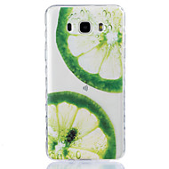 For Transparent Præget Mønster Etui Bagcover Etui Frugt Blødt TPU for SamsungJ7 (2016) J5 (2016) J5 J3 Pro J3 (2016) J3 J1 (2016) Grand