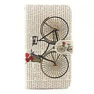 Varten wiko lenny 3 lenny 2 polkupyörän kuvio pu nahkaa koko kotelo, jossa jalusta ja korttipaikka wiko lenny 2 lenny 3 auringonlasku 2