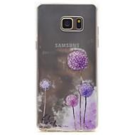 Til Samsung Galaxy Note 5 mælkebøtte mønster høj permeabilitet tpu materiale telefon taske