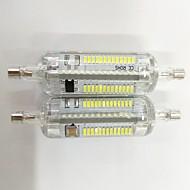 4w r7s led φως καλαμποκιού silica gel 104 smd 3014 350-450m ζεστό λευκό / δροσερό λευκό διακοσμητικό v 2pcs
