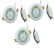 LED Encastrées Blanc Chaud / Blanc Froid LED 3 pièces