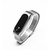 Zwart / Zilver Roestvast staal Klassieke gesp Voor Xiaomi Horloge 14mm