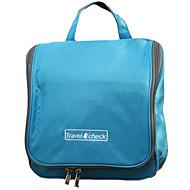 1 PC Travel Bag Toiletry Bag Moistureproof/Moisture Permeability Waterproof Foldable for Travel Storage Fabric-Orange Yellow Blue