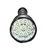 Belysning LED Lommelygter LED 3800 Lumens 5 Modus LED 18650 / AAA Mulighet for demping / Vandtæt / Super Lett / High Power