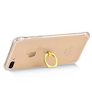 のために スタンド付き ケース バックカバー ケース ソリッドカラー ソフト TPU のために Apple iPhone 7プラス / iPhone 7