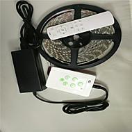 5 m LED RGB fargerike lys stripe justerer farge med musikk&trådløs kontroll. med stripe lys kontrolleren og fjernkontroll