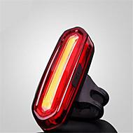 Luce posteriore per bici / riflettori di sicurezza LED LED Ciclismo Impermeabili / Taglia piccola / antiscivolo USB MAX:120 Lumens USB