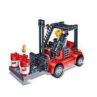 Building Blocks For Gift  Building Blocks Model & Building Toy Forklift ABS Red / Black Toys