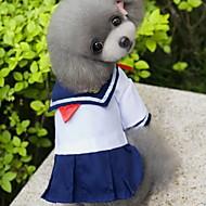猫用品 / 犬用品 コスチューム / ドレス ホワイト 犬用ウェア 夏 / 春/秋 セーラー ファッション / コスプレ