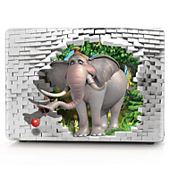 3d σχήμα ελέφαντα περίπτωση macbook υπολογιστή για macbook air11 / 13 pro13 / 15 pro με retina13 / 15 macbook12