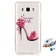 Mert IMD / Átlátszó / Minta Case Hátlap Case Szexi lány Puha TPU mert Samsung J7 (2016) / J7 / J5 (2016) / J5 / Grand Prime / Core Prime