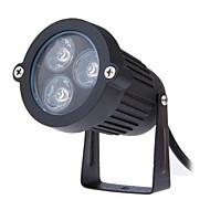 3W LED udendørs græsplæne ac85-265v lampe lille trekant insert lampe