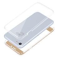 のために 耐衝撃 ケース フルボディー ケース ソリッドカラー ソフト TPU のために Apple iPhone 7プラス / iPhone 7 / iPhone 6s Plus/6 Plus / iPhone 6s/6