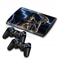 b-piel® delgada 4000 de la consola cubierta de la etiqueta engomada etiqueta piel protectora de la piel del controlador de PS3