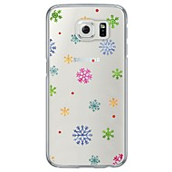 إلى نحيف جداً / شبه شفّاف غطاء غطاء خلفي غطاء عيد الميلاد ناعم TPU إلى Samsung S7 edge / S7 / S6 edge / S6 / S5
