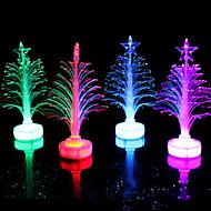 光ファイバークリスマスツリーは、カラフルな色、小さなクリスマスツリーランダムな色を主導しました