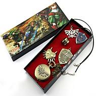 Zegar/zegarek / Znaczek / Więcej akcesoriów Zainspirowany przez The Legend of Zelda Ogniwa Anime Akcesoria do CosplayNaszyjniki / Znaczek