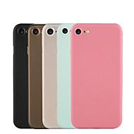 For Ultratynn / Matt Etui Bakdeksel Etui Ensfarget Hard PC for Apple iPhone 7 Plus / iPhone 7