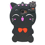 Mert Ütésálló Case Hátlap Case 3D rajz Puha Szilikon mert Samsung On 7 / J7 (2016) / J7 / E7 / C5