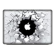 For MacBook Air 11 13/Pro13 15/Pro with Retina13 15/MacBook 12 Broken Hole Decorative Skin Sticker