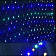 plase de condus lumini de Crăciun lumini impermeabil colorized 1.5 * 1.5 M96 soclu lampă