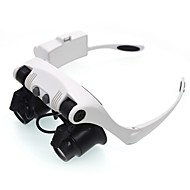 Magnifiers/Magnifier Glasses Headset/Eyewear 10x、15x、20x、25xXNormal General use Jewelry Reading Watch Repair Equipment & Tools