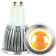 5W GU10 LEDスポットライト 1 COB 600 lm 温白色 / クールホワイト 明るさ調整 交流220から240 / AC 110-130 V 2個