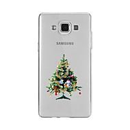 Mert Minta Case Hátlap Case Karácsony Puha TPU mert Samsung A9(2016) / A7(2016) / A5(2016) / A3(2016) / A9 / A8 / A7 / A5 / A3