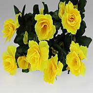 1 Rama Plástico Otros Otros Azalea Flor de Mesa Flores Artificiales
