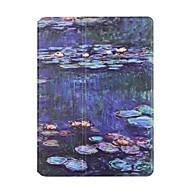 のために カードホルダー 折りたたみ式 ケース フルボディー ケース 風景 ハード PUレザー のために Apple iPad 4/3/2