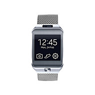Milanese Loop Mesh Stainless Steel Metal Bracelet Strap with Unique Magnet Lock for Samsung Gear 2 R381 R382 R380