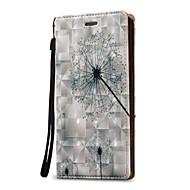 Til Samsung Galaxy Note 5 Note 4 Case Cover 3D mælkebøtte Hard PU Læder til Note 3