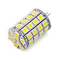 5W G4 LED-lamper med G-sokkel tube 30 SMD 5050 460 lm Varm hvit Kjølig hvit Dimbar Dekorativ DC 12 V 1 stk.