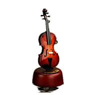 Scatola musicale Musica Classico Legno Marrone Per bambini / Per bambine