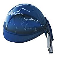 Xintown κάλυμμα κάλυμμα κράνος coolskin καπάκι κρανίο sweatband για ποδηλασία κολύμβηση αναρρίχηση άνδρες γυναίκες ποδηλασία καπάκι - μπλε