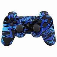 None Styrenheter För Sony PS3 Uppladdningsbar Gaming Handle Bluetooth